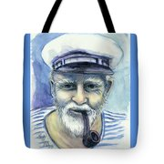 Weathered - He And His Memories... Tote Bag