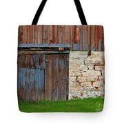 Weathered Barn Door Tote Bag
