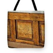 Weathered Bench - Santa Fe #2 Tote Bag