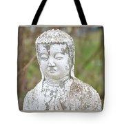 Weathered Buddha Statue Tote Bag
