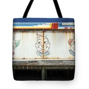 Weathered Clowns Tote Bag