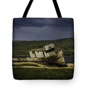 Weathered Fishing Boat Tote Bag