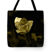 Weathered Golden Tulip Tote Bag