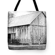 Weathered Gray - Bw Tote Bag
