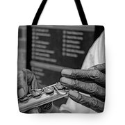 Weathered Hands Tote Bag