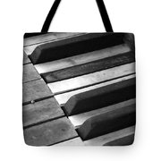 Weathered Music Tote Bag