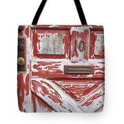 Weathered Red Door 1 Tote Bag