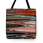 Weathered Roots Abstract Tote Bag