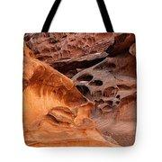 Weathered Sandstone Tote Bag by Leland D Howard