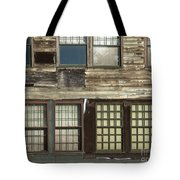 Weathered Windows Tote Bag