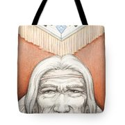 Weathered Wisdom Tote Bag
