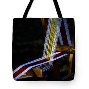 Weaving At Dawn Tote Bag