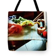 Weaving Supplies Tote Bag