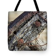 Web Covered Wheel Tote Bag