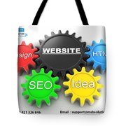 Web Design And Development Company In Adelaide  Tote Bag