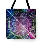 Web Matrix Tote Bag