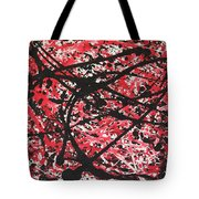Web Of Fire Tote Bag
