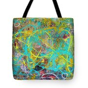 Web Of The Spider Tote Bag
