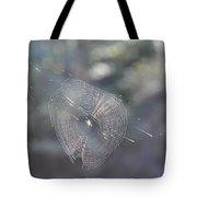 Web Reflections Tote Bag