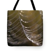 Web Sparkle Tote Bag