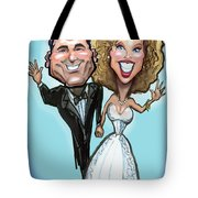 Wedding Cake Dolls Tote Bag