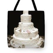 Wedding Cake Petals Tote Bag