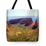 Wedding Canyon Tote Bag