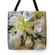 Wedding Day Bouquet Tote Bag