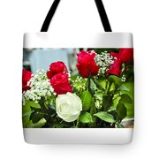 Wedding Flowers Tote Bag