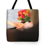 Wedding Hands Tote Bag