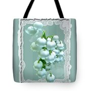 Wedding Happiness Greeting Card - Lily Of The Valley Flowers Tote Bag