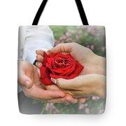 Wedding Rings Tote Bag