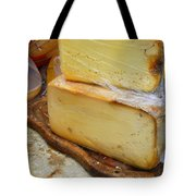Wedges Of Ripe Cheese Wrapped Tote Bag