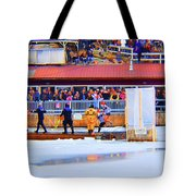Wee Bit Chilly  Tote Bag