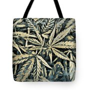 Weed Abstracts Four Tote Bag