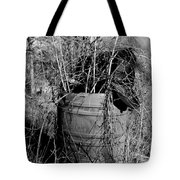 Weed Covered Mailbox Tote Bag