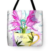 Weed Fairy Naptime Tote Bag