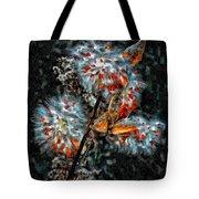 Weed Galaxy Painted Version  Tote Bag