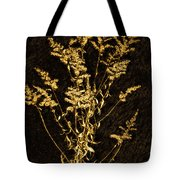 Weed Portrait Tote Bag