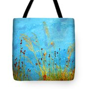 Weeds And Water Tote Bag