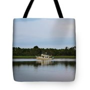 Weekend Boating Tote Bag