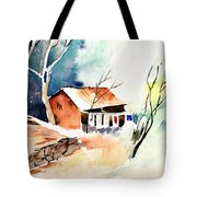 Weekend House Tote Bag
