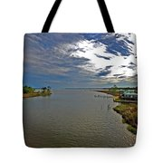 Weeks Bay At Sunset Tote Bag