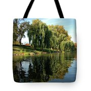 Weepin Willows Frankenmuth Cass River Tote Bag