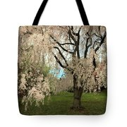 Weeping Asian Cherry Tote Bag