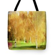 Weeping White Birch Tote Bag