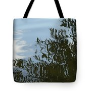 Weeping Willow Reflection Tote Bag
