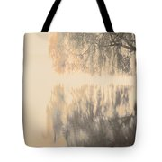 Weeping Willow Woman Tote Bag