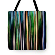 Weeping Yellowstone Trees Tote Bag