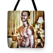 Weerawat. We For Short. A Kickboxer And Tote Bag